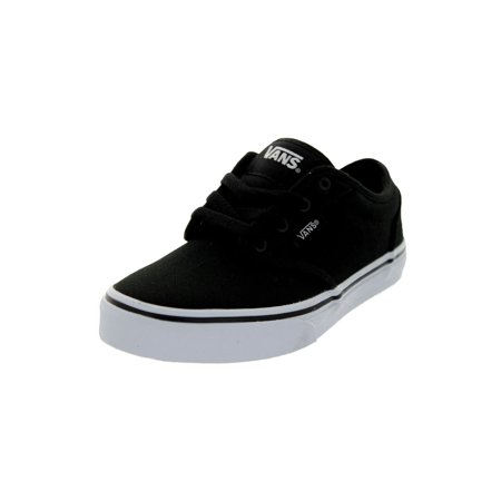 Vans Kids Atwood (Canvas) Skate - All Black Toddler Vans
