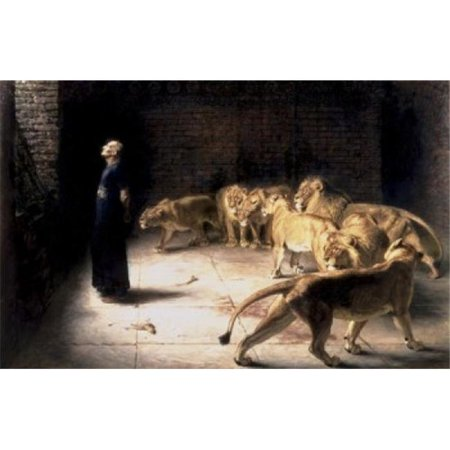 Daniels Answer To The King Briton Riviere, 1840-1920 British Poster Print, 24 x 36 -