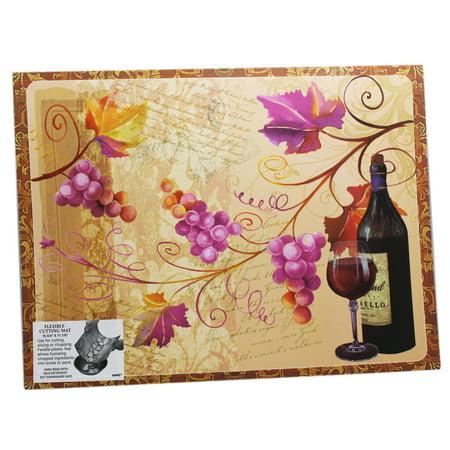 Colors of Fall Elegant Vineyard Theme Cutting Mat - By Ganz - Fall Themed Wedding