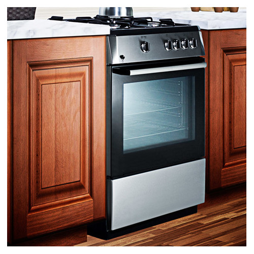 Summit Appliance 24'' Slide-in Gas Range
