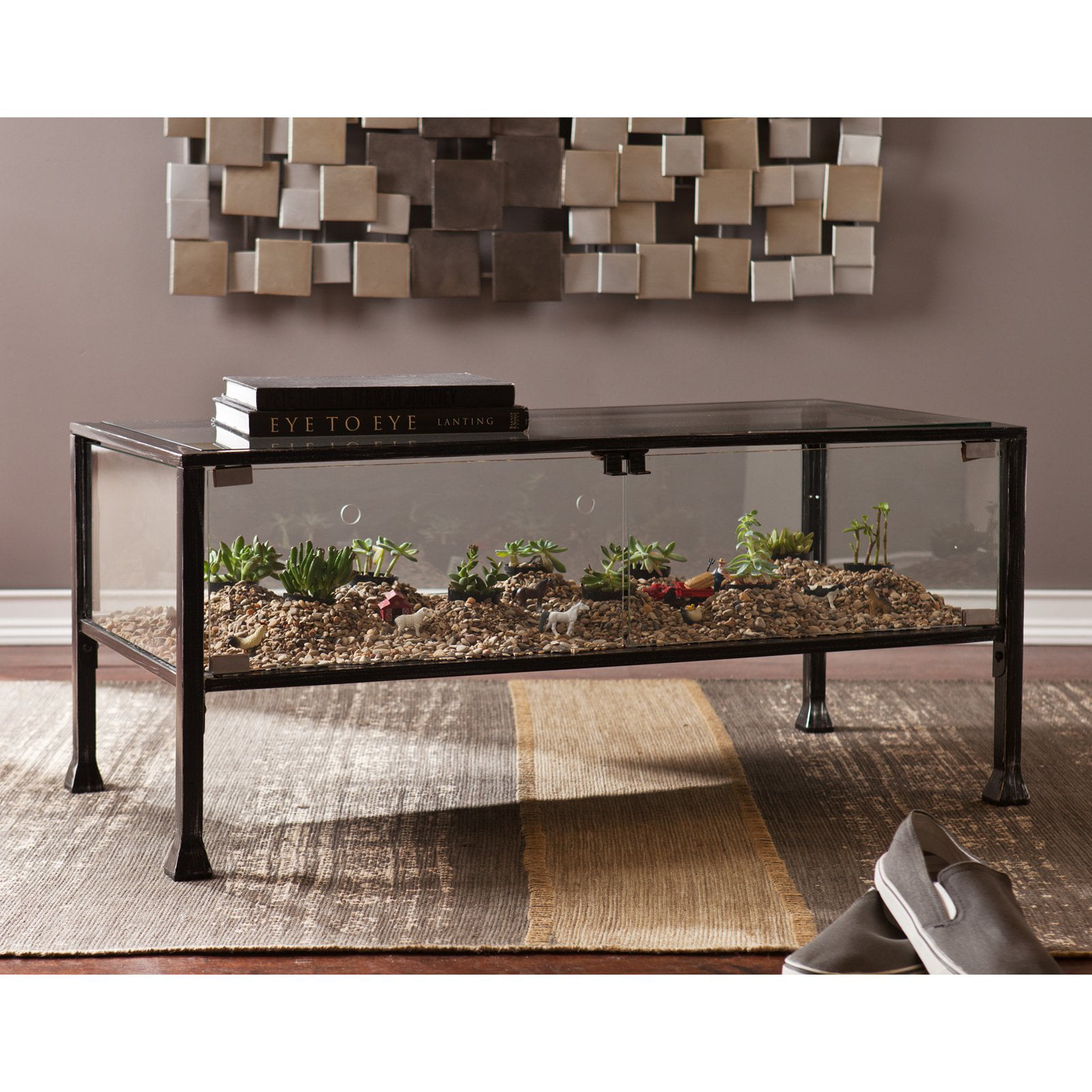 - Southern Enterprises Terrarium Coffee Table - Walmart.com
