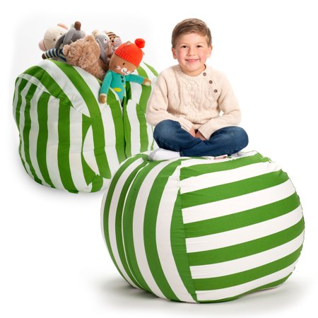 Admirable Creative Qt Stuffed Animal Storage Bean Bag Chair Extra Squirreltailoven Fun Painted Chair Ideas Images Squirreltailovenorg