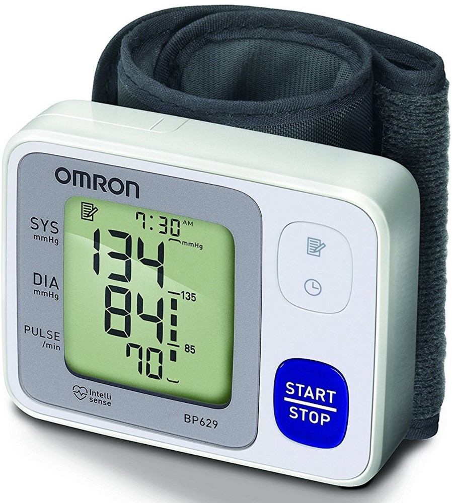 Omron 3 Series Wrist Blood Pressure Monitor 1 ea (Pack of 3)