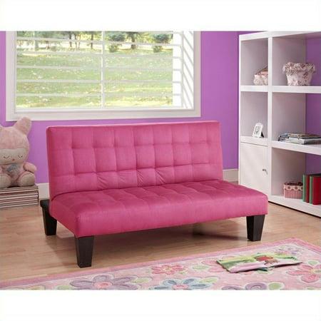 Fabulous Dhp Ariana Microfiber Junior Convertible Sofa In Black Ibusinesslaw Wood Chair Design Ideas Ibusinesslaworg