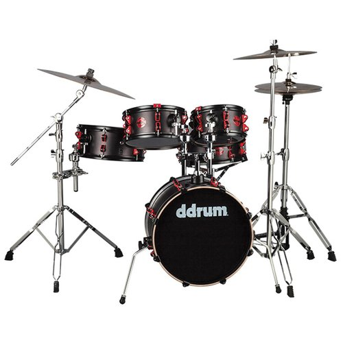 ddrum Hybrid 5-Piece Compact Kit by ddrum