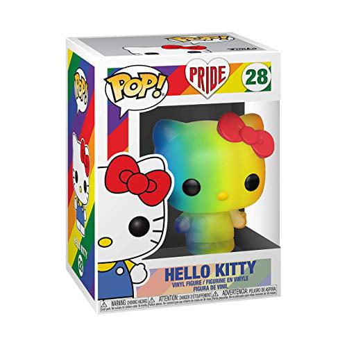 Hello Kitty Rainbow ANIMATION: Pride 2020 New Toy Vin FUNKO POP
