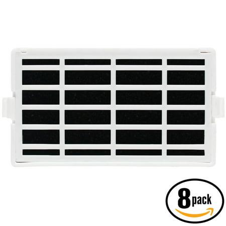 8-Pack Replacement Maytag MFB2055YEB02 Refrigerator Air Filter - Compatible Maytag W10311524, AIR1 Fridge Air Filter - image 1 de 4