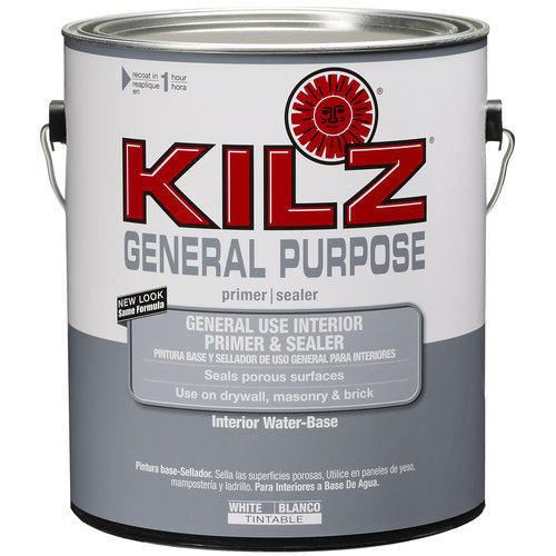 Kilz General Purpose Interior Primer and Sealer, 1 gal