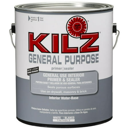 Kilz general purpose interior primer and sealer 1 gal for Kilz kilz 2 interior exterior latex primer