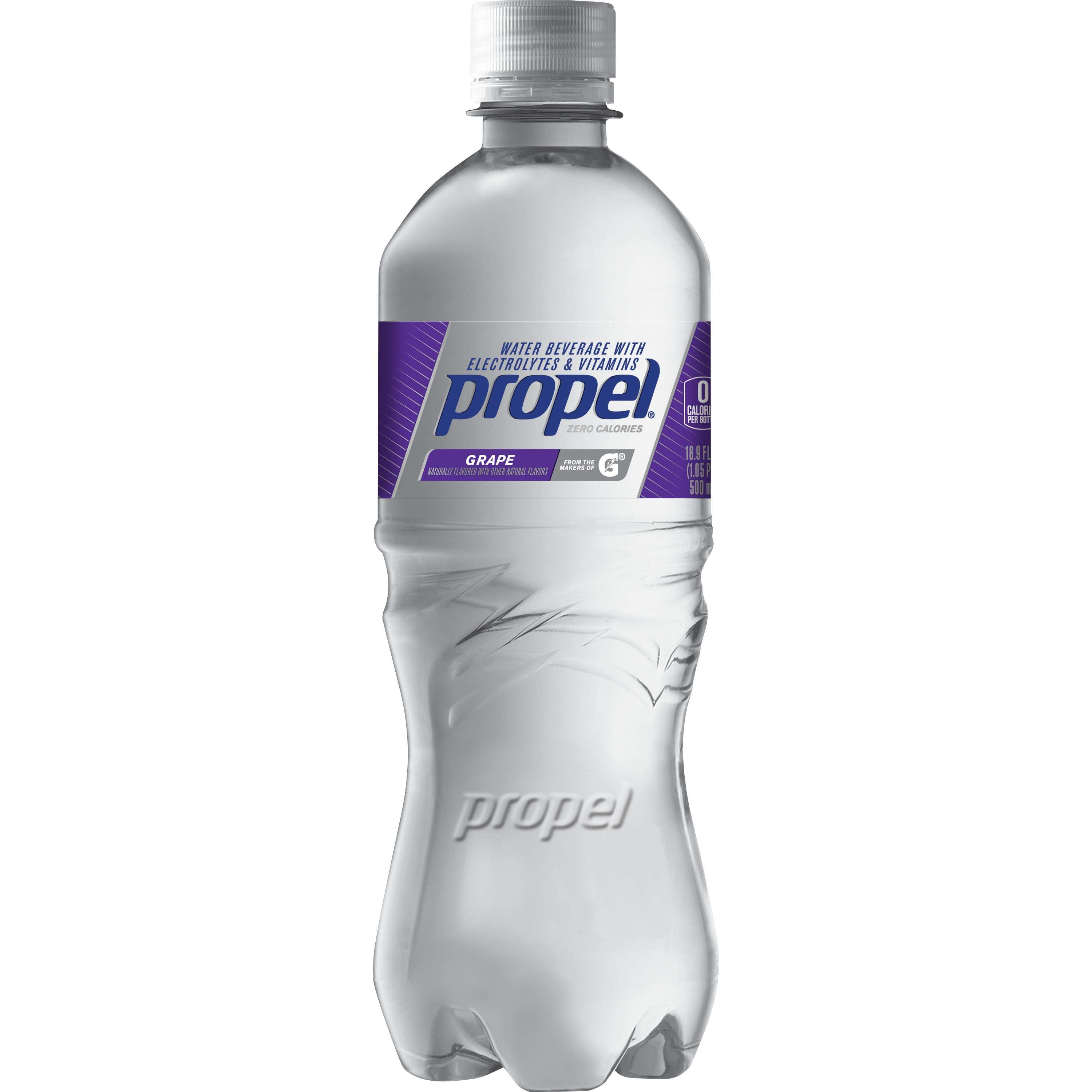 Propel Fitness Water Grape Flavored Water, 24ct
