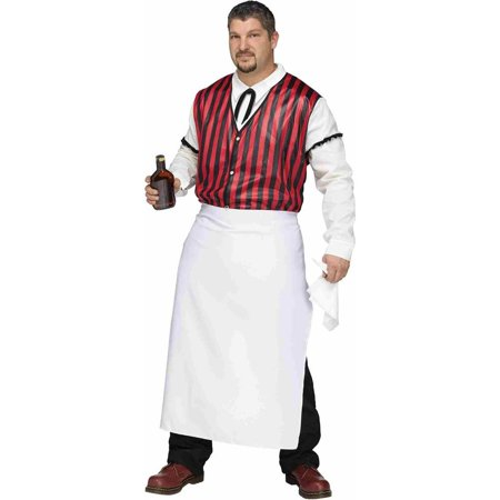 Saloon Keeper Old Wild West Western Bar Bartender Mens Adult Plus Size - Old West Costumes Adults