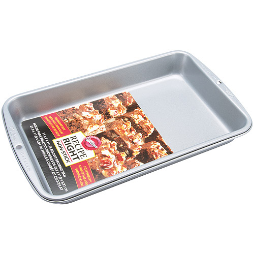 "Wilton Recipe Right 11""x7"" Biscuit & Brownie Pan 2105-960"