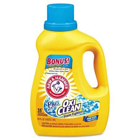 Arm & Hammer OxiClean Fresh Scent Liquid Laundry Detergent, 61.25 oz
