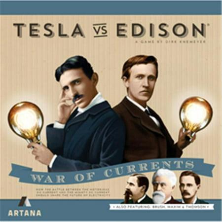 Artana Tesla VS Edison Board Game: Duel ()