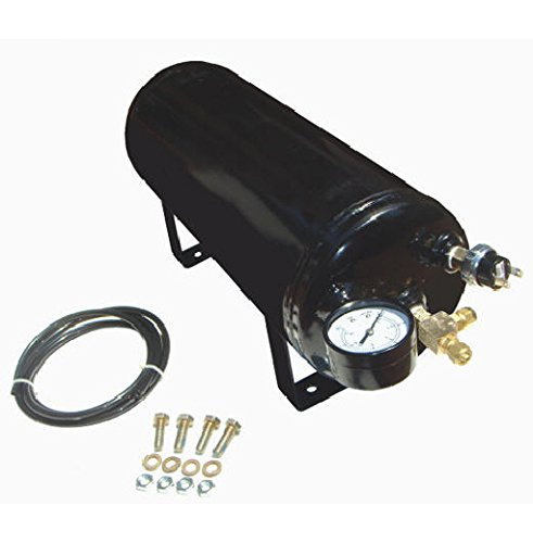 Viking Horns V1003ATK, 1.5 Gallon (5.6 Liter) All Metal Air Tank For Air Train And Air Suspension Systems