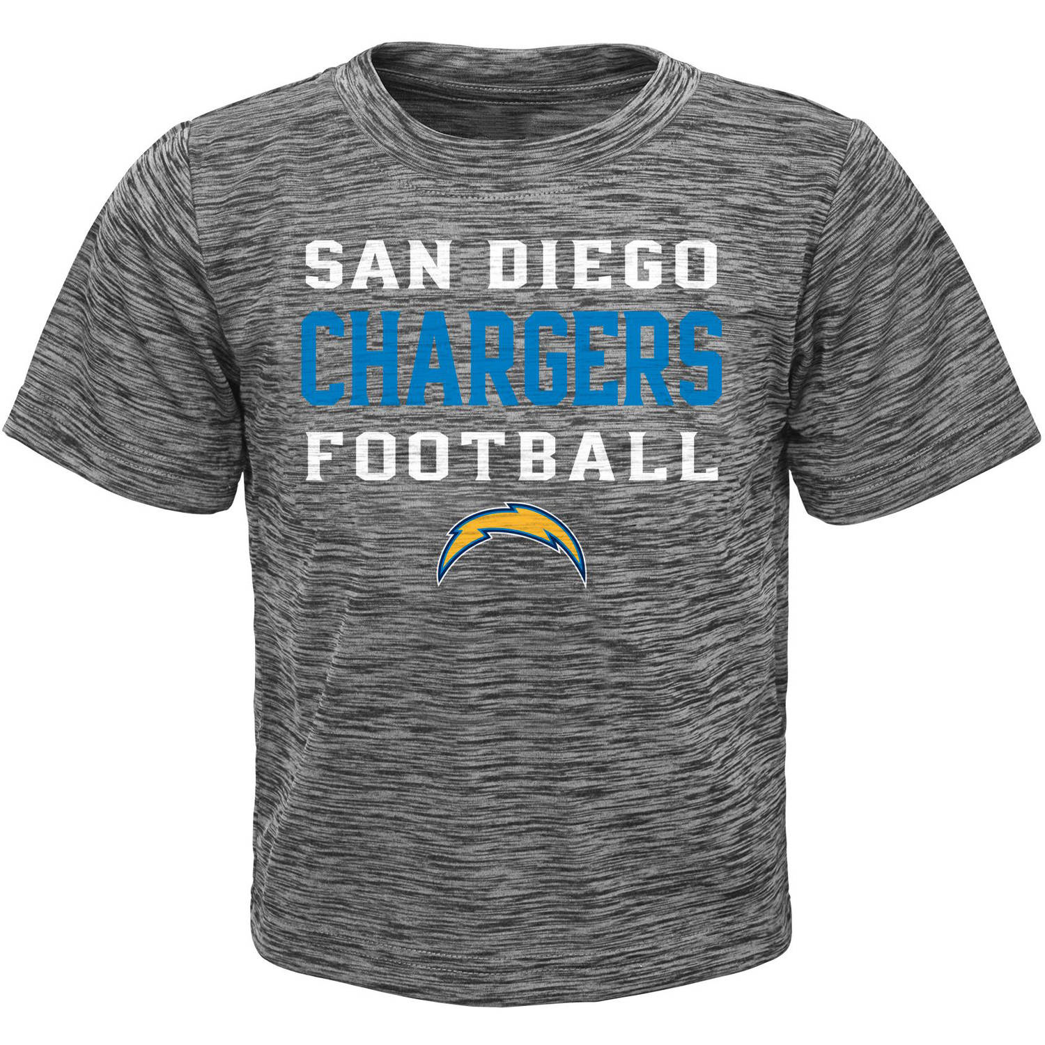 NFL Boys' San Diego Chargers Short Sleeve Poly Team Tee