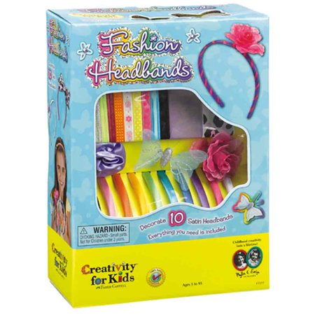 Fashion Headbands - Craft Kit by Creativity for Kids](Summer Craft Ideas For Kids)