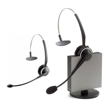 Jabra GN9125 Flex Mono Mono Wireless Noise-Canceling Headset w/ Additional Spare Headset