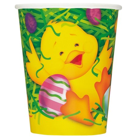 Easter Ducky 9 oz Paper Cups