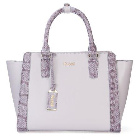 Kadell Women Fashion Purse Handbag Top-handle Cross Body Purse Elegant Durable PU Leather Tote Bag  - image 5 of 9
