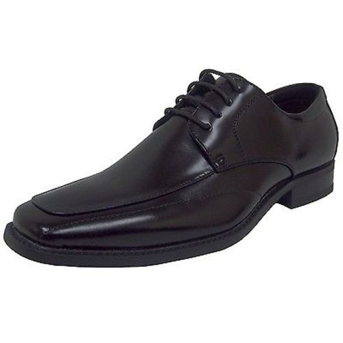 Stacy Adams DRAKE 20130-001 Mens Black Leather Comfort Moc Toe Dress Oxford (Medium (D, M),7) by