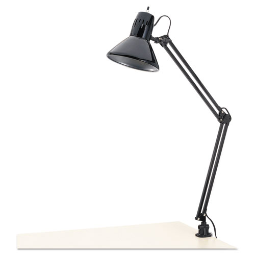 "Click here to buy Alera Architect Lamp, Adjustable, Clamp-on, 28"" High, Black by ALERA."