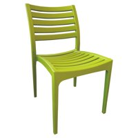 Strata Furniture Ashlin Weatherproof Patio Dining Chair - Set of 2