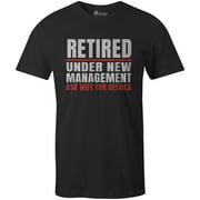 9 Crowns Tees Men's Retirement Gift Funny Graphic T-Shirts