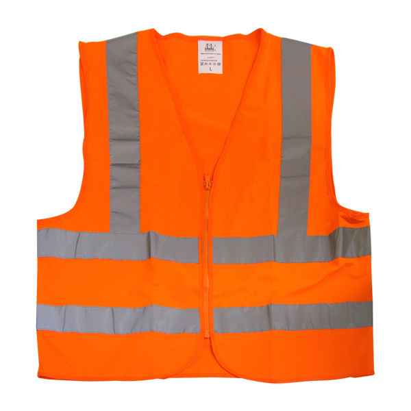 Neiko Safety Vest Orange Knit ANSI/ISEA Large