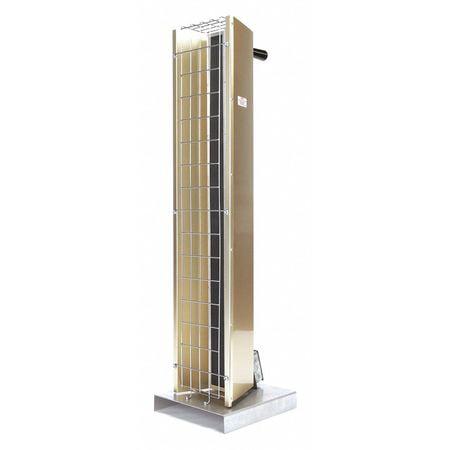 Electric Infrared Heater,240V,3150W FOSTORIA FSP-3124-1