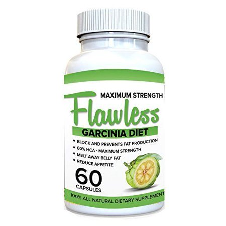 Flawless Garcinia Cambogia 100 Pure Garcinia Cambogia Extract With Hca Extra Strength All Natural Appetite Suppressant Carb Blocker Weight