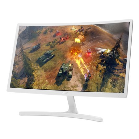 21eceaa39f7b Acer ED242QR wi 24-inch Class Curved Full HD (1920 x 1080) Monitor with AMD FREESYNC  Technology (HDMI & VGA Ports) - Walmart.com