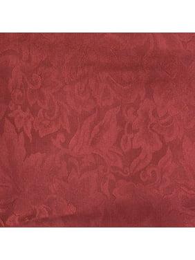 Wyoming Traders Mens Jacquard Silk Wild Rag Scarf Maroon  Red