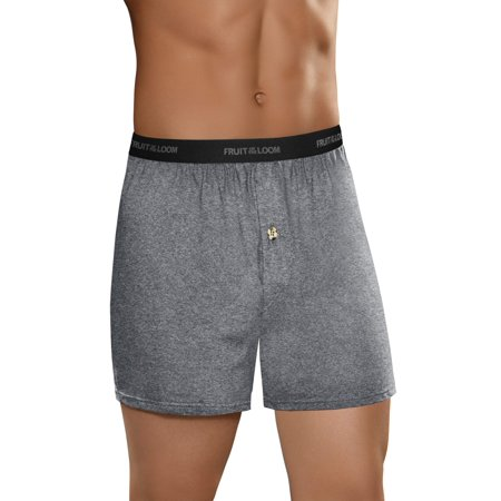 Men's Beyondsoft Assorted Knit Boxers, 5 (Logo Knit Boxer)