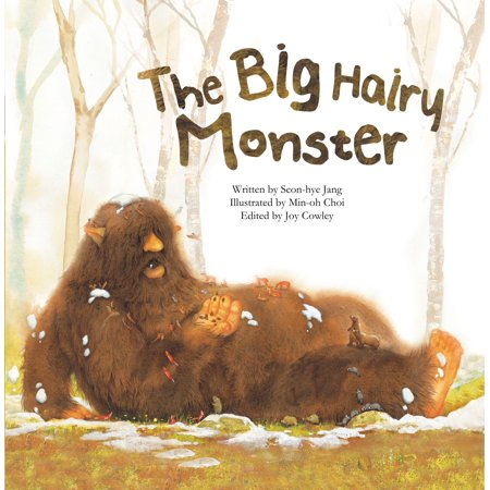 Math Storybooks: The Big Hairy Monster (Paperback)