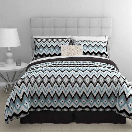 East End Living Zig Zag 5-Piece Bedding Comforter Set