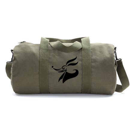 Zero Dog Nightmare Before Christmas Heavyweight Canvas Duffel