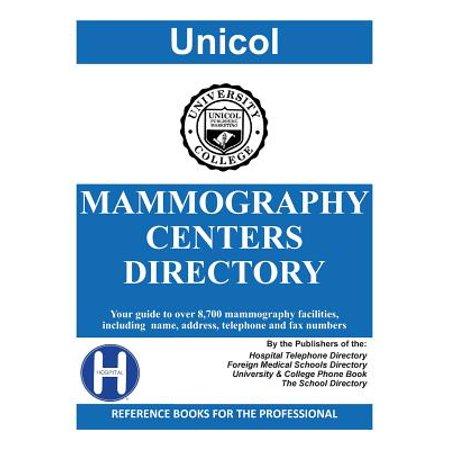 Mammography Centers Directory, 2018 - Lcd Directory
