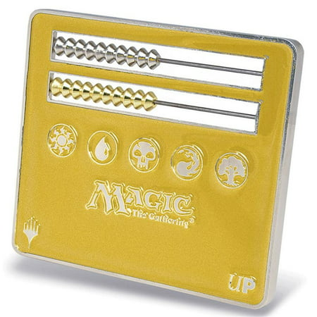 Life Counter: MtG: Gold Abacus Official Magic: The Gathering Large Counter (Gold) Ultra Pro 86591