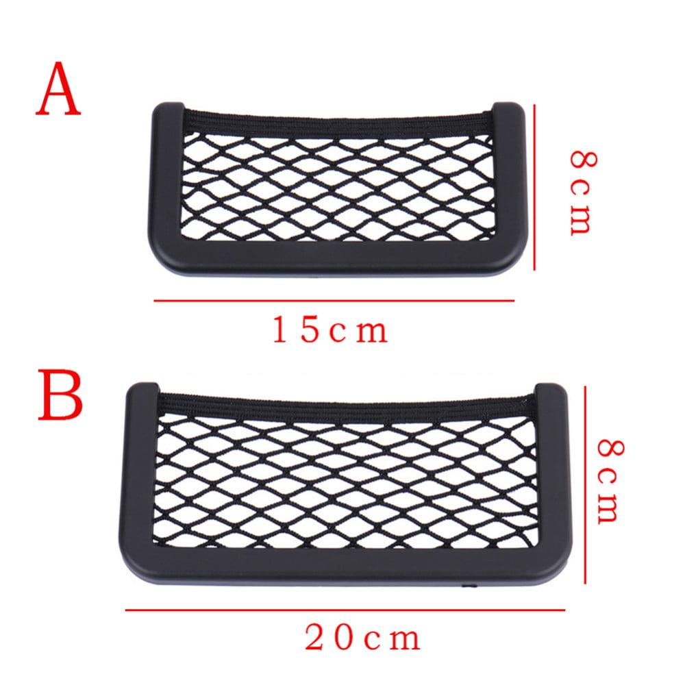 Car Storage for Purse /& Pocket for Smaller Items Car Net Pocket Handbag Holder Red N//A2 SphynxCo Car Organizer /& Must Have Car Essentials