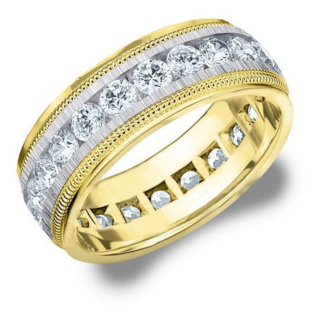 edge wedding brushed bands band p step htm mens diamond ring tungsten