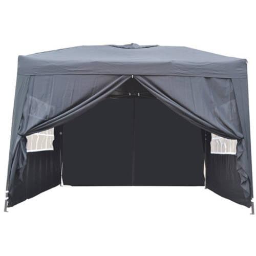 10' x 10' Ez Pop Up 4 Walls Canopy Party Tent Heavy Duty,
