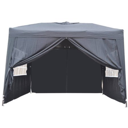 10' x 10' Ez Pop Up 4 Walls Canopy Party Tent Heavy Duty,