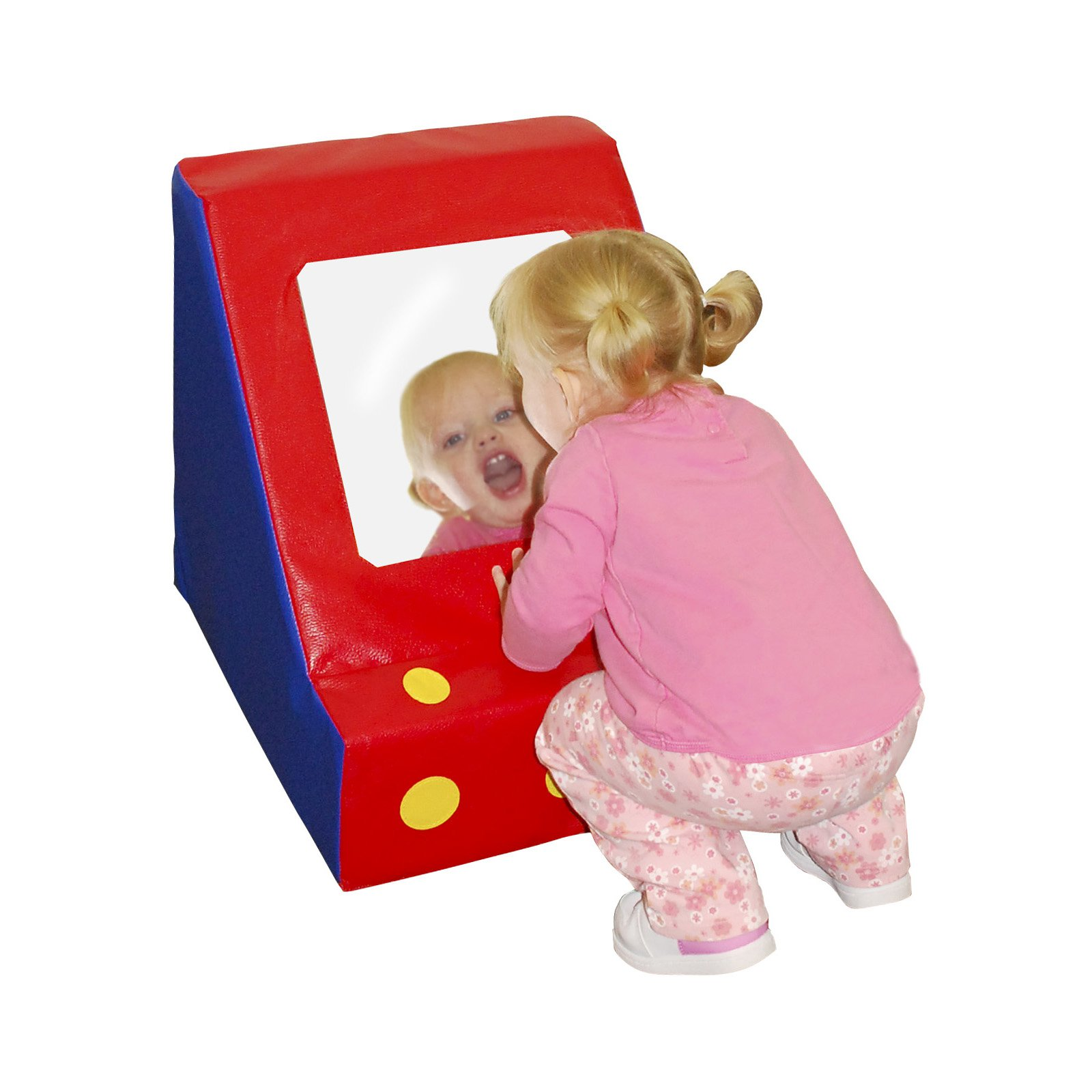 Pull Up Mirror, Primary by ECR4Kids