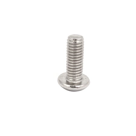 M3x8mm 304 Stainless Steel Button Head Hex Socket Tamper Proof Screws 50pcs - image 3 de 3