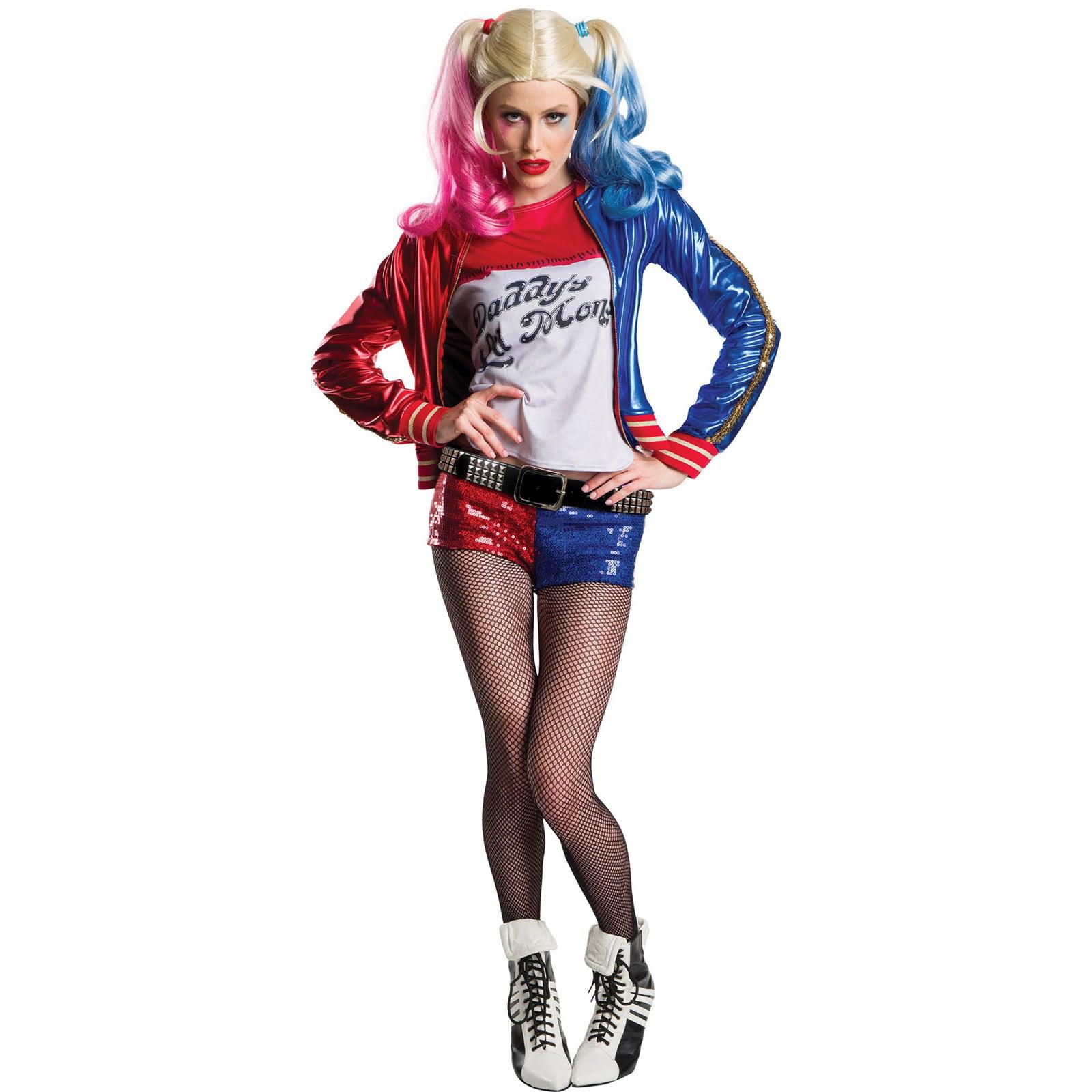 Womens Harley Quinn Halloween Costume