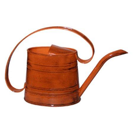 Robert allen mpt01506 watering can metal orange 5 gal - Gallon metal watering can ...
