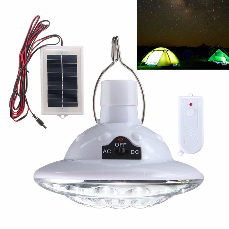 Kingso 22 Led Solar Light Yard Hanging Outdoor Tent Camping Lamp Remote Control