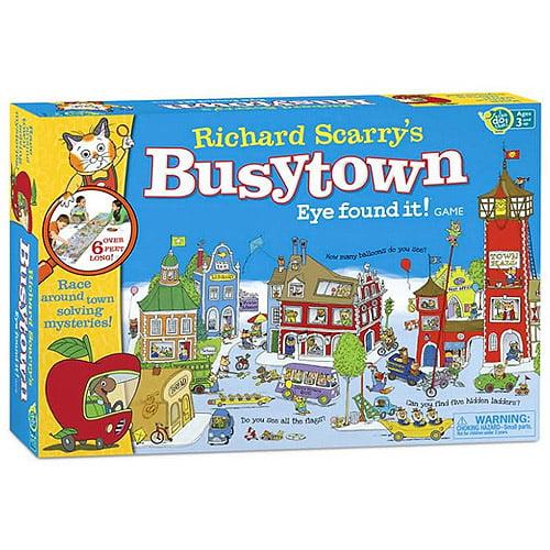 Wonder Forge Richard Scarry's Busytown Eye Found It! Game