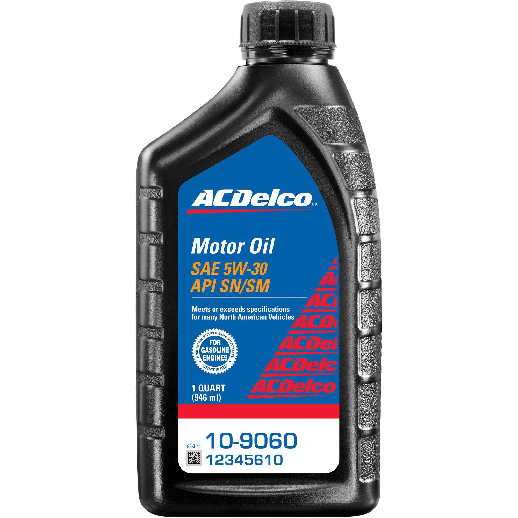 ACDelco 10-9060 5W30 Motor Oil by ACDelco